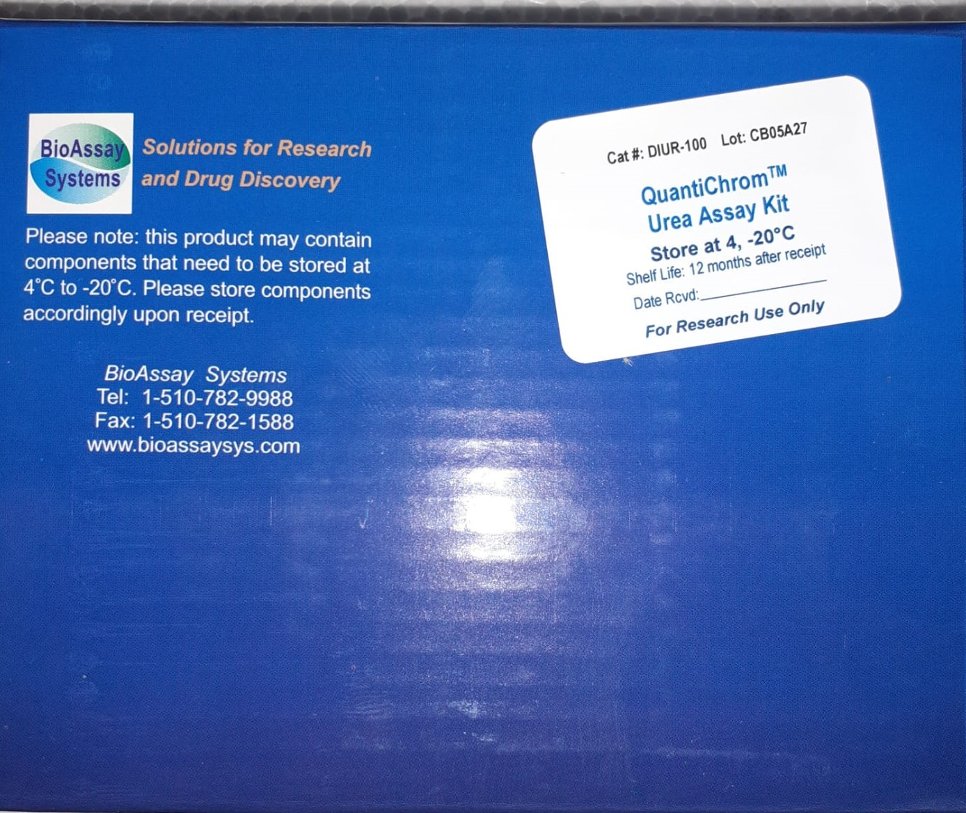 You are currently viewing QuantiChrom Urea Assay Kit